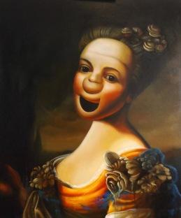 "Soft Portrait, 2018. Oil on Canvas 24 x 18"". Karl Jahnke"