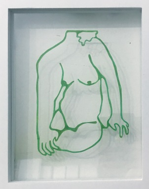 """Reflect"" 2019, 8x10"" by Jen Lau : $200"