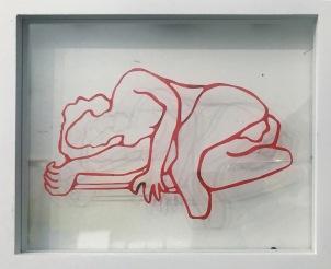 """""""Sleep"""" 2019, 8x10"""" by Jen Lau : $200"""